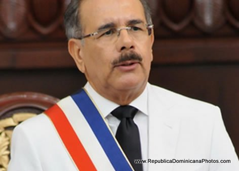 Danilo Medina - President of the Dominican Republic