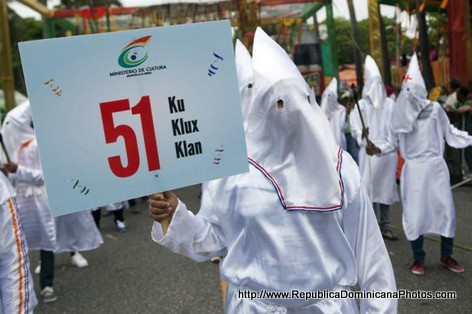 Ku Klux Klan in a Dominican Republic Parade?
