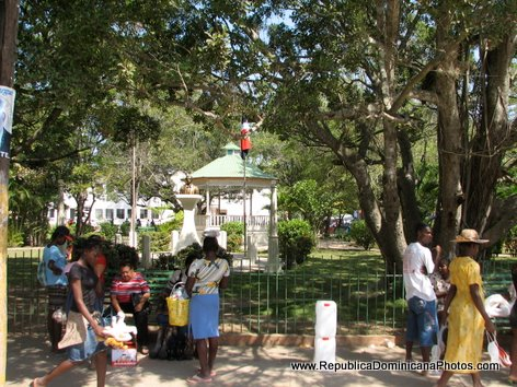 Parque Central - Public Park in Dajabon, Dominican Republic
