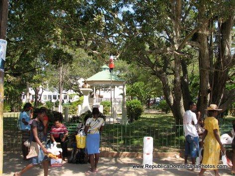 Parque Central - Public Park in Dajabon, Dominican Republic