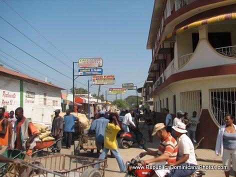 Dominican Republic Dajabon Ouanaminthe Border
